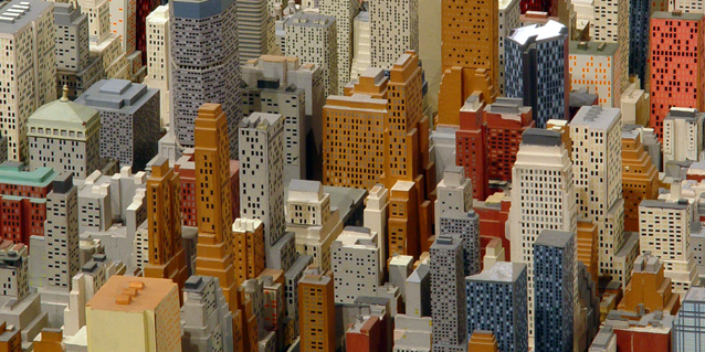 Panorama of the city of new york queens museum for Model house nyc