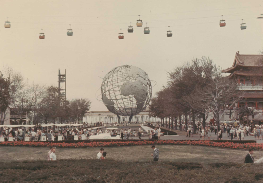 Image: Unisphere at the 1964 World's Fair by Fred R. Tannery