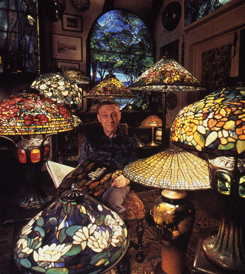 A Passion for Tiffany Lamps