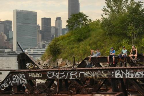 Film Still Reclaimed Ground by Nate Dorr & Nathaniel Kensinger