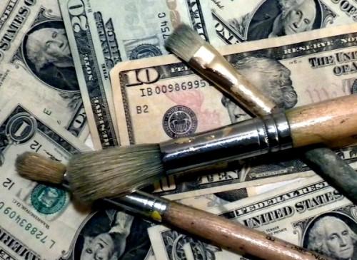 Money-with-paintbrushes