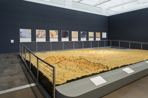 Maps from Nonstop Metropolis: A New York City Atlas in the Queens Museum's Watershed Gallery