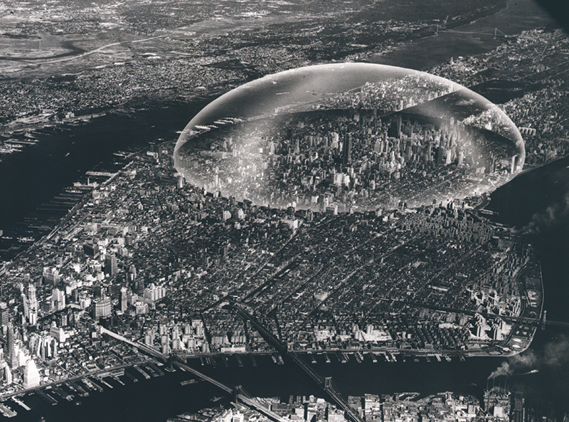 Buckminster Fuller, Dome Over Manhattan, 1961