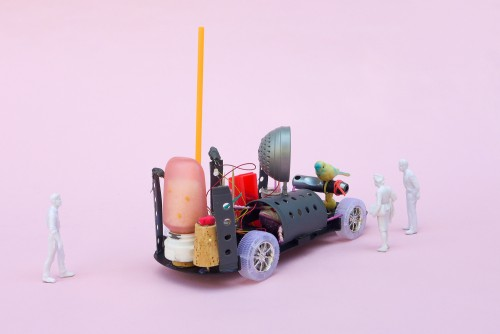 Mobile Service Stations at PS147 with the Extrapolation Factory