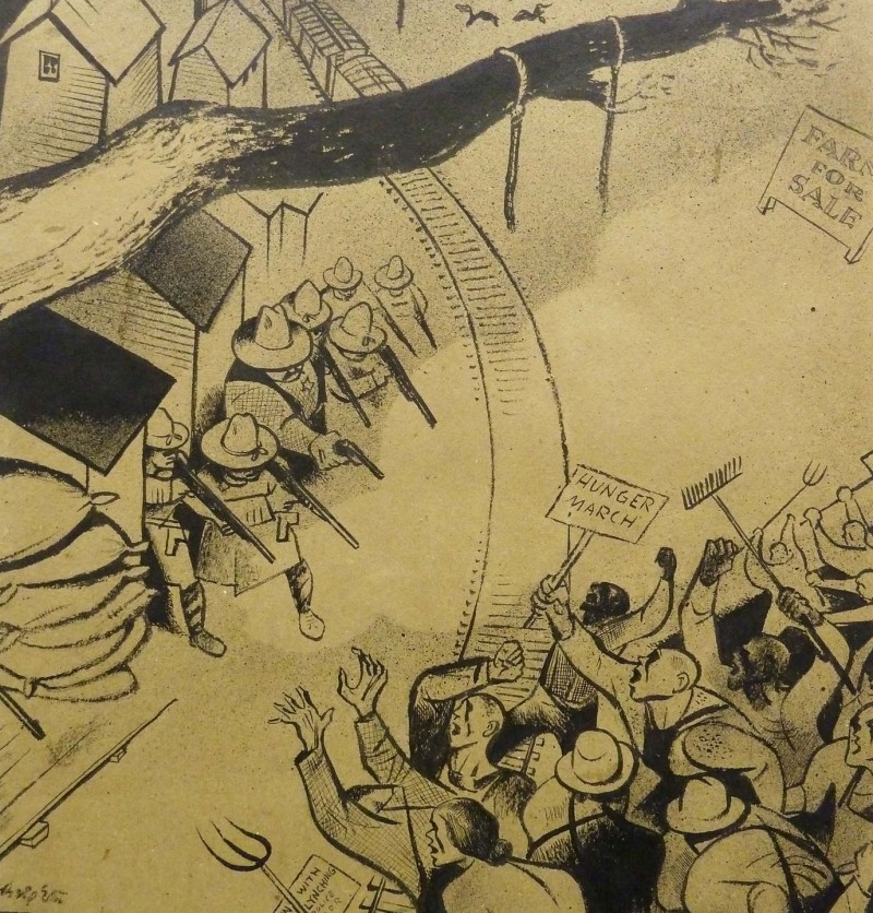 Bearing Witness: Drawings by William Gropper